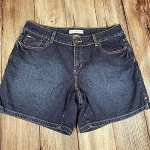 Tommy Hilfiger 16w womens hipster denim shorts
